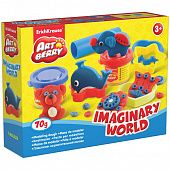 Набор для лепки ArtBerry Imaginary World 2 цвета*35г